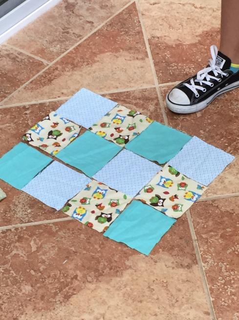 New quilt pattern.