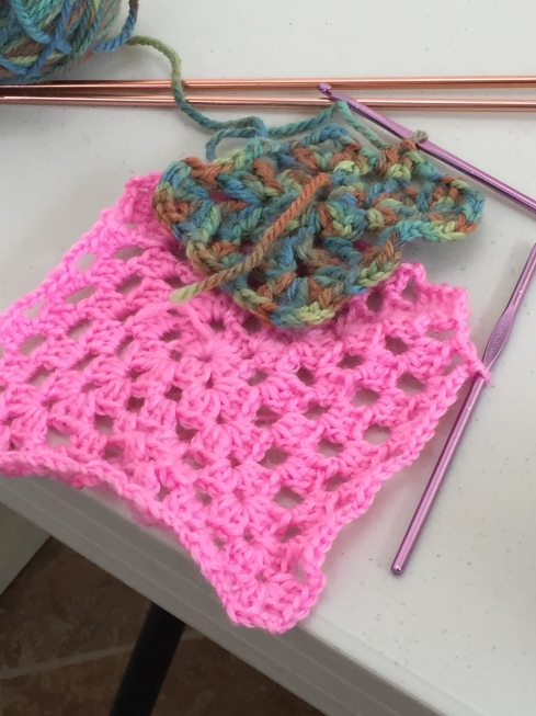 Crochet Granny Squares.