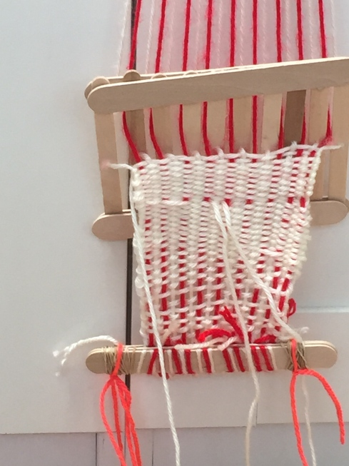 So much weaving!