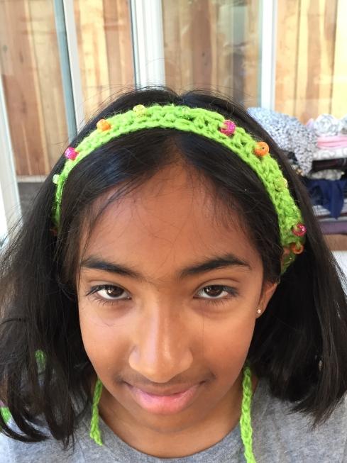 Crochet Head Band.