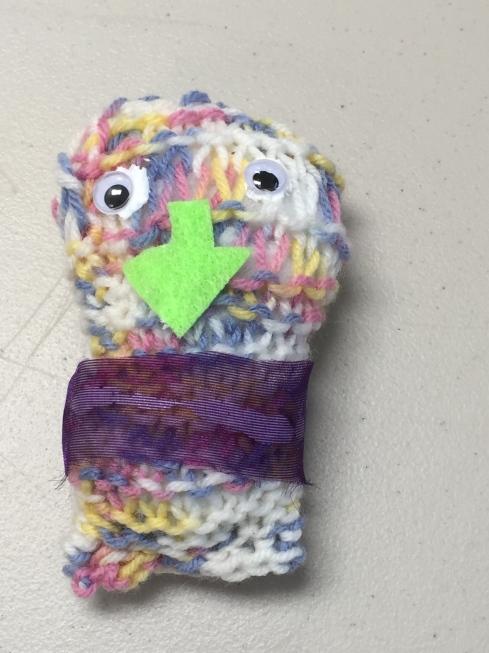 Monster Stuffie.
