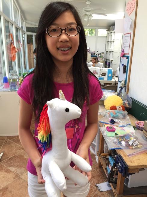 Unicorn - student created.