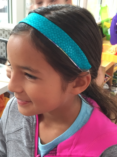 4th grader headband.