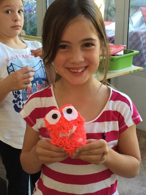 Knitted Stuffie Monster!