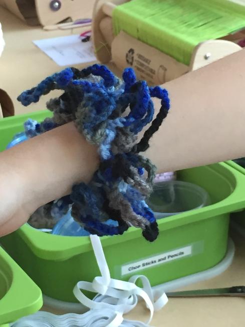 Crocheted Hair Scrunchie!